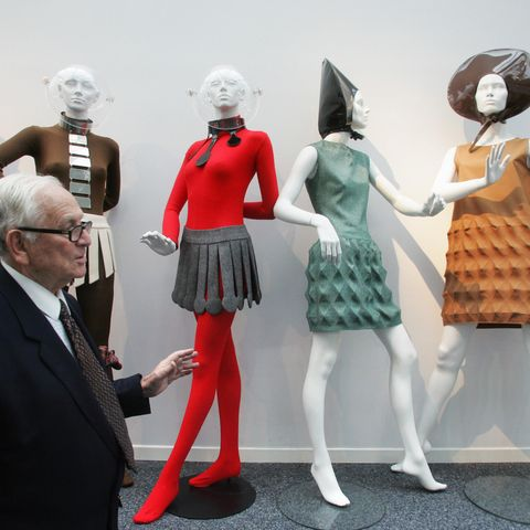"to go with the story ""pierre cardin met"