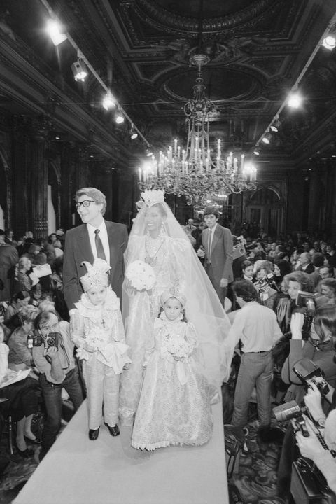 yves saint laurent spring summer1982 fashion show