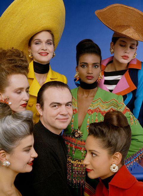French Designer Christian Lacroix Wins 1988 Golden Thimble Award