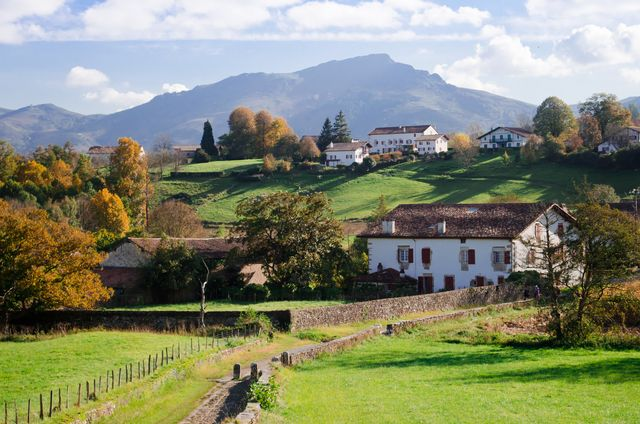 french landscape   basque country