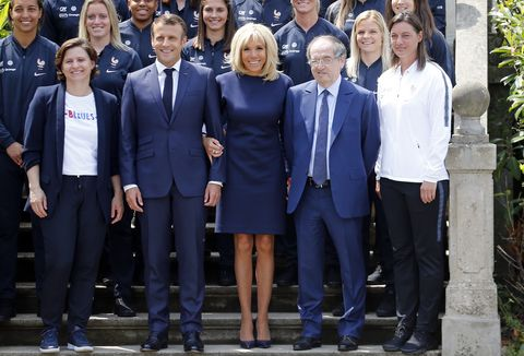 Brigitte Macron S Best Fashion Looks First Lady Of France S Outfits