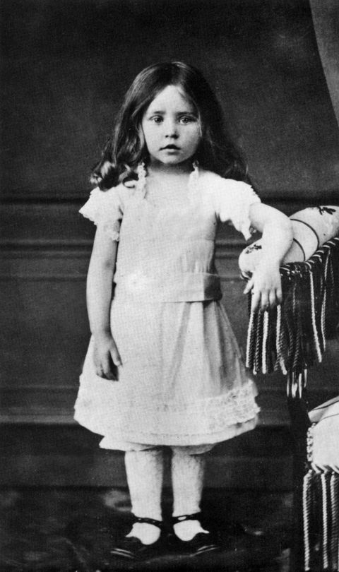 french writer colette 1873 1954, sidonie gabrielle here as a child in 1876