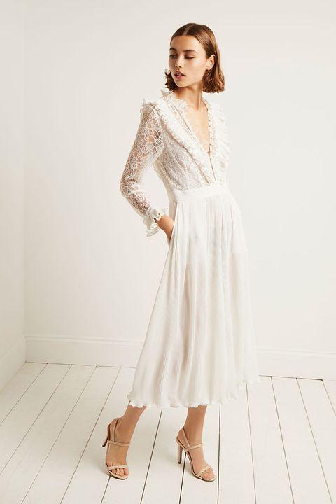 6b0a9ec005e 18 high street wedding dresses you ll love - high street brands that ...