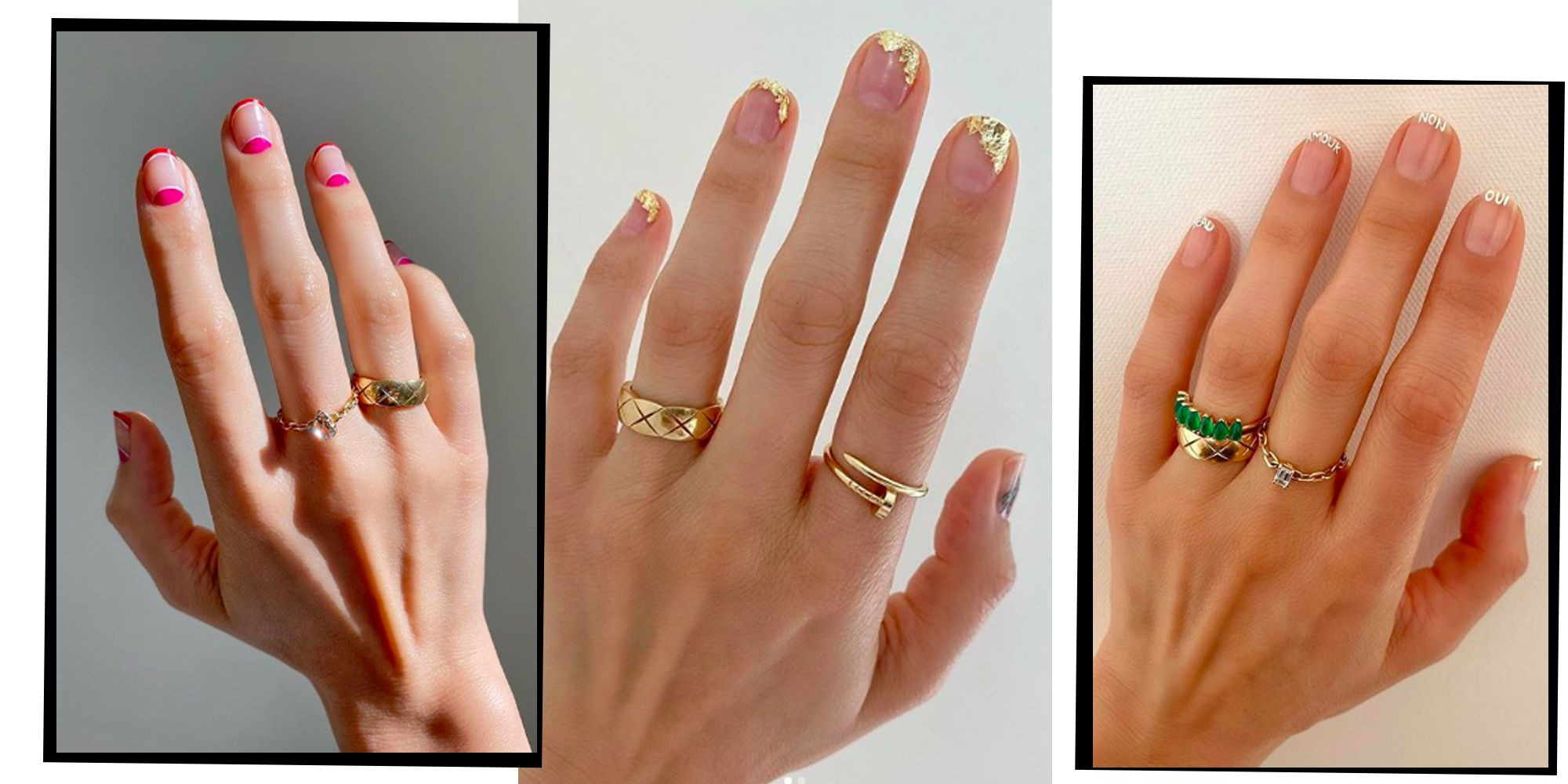 How To Wear The 2020 French Manicure Trend By Betina Goldstein