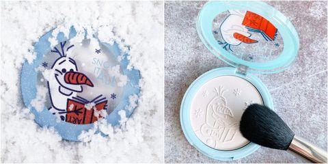 FreshO2x《冰雪奇緣2》太萌,白色雪寶粉餅可愛到揪心