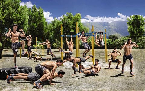 This Workout Will Prepare You For Obstacle Course Race Glory