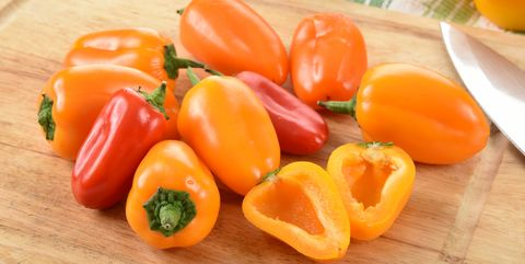 Mini Sweet Peppers - Types of Peppers