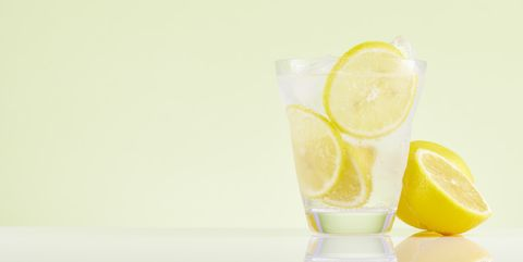 lemon water concentrate diet