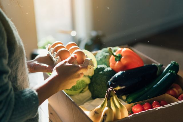 fresh food home delivery service