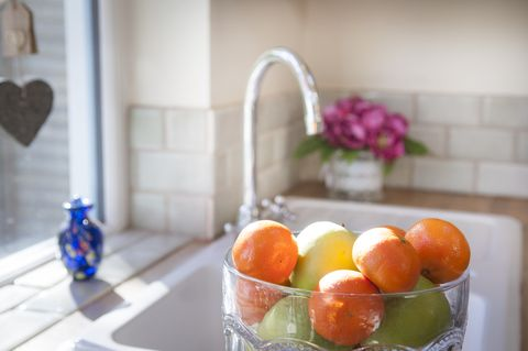 Fresh fruit on display within a home