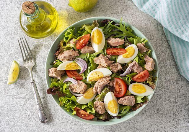 fresh homemade tuna salad