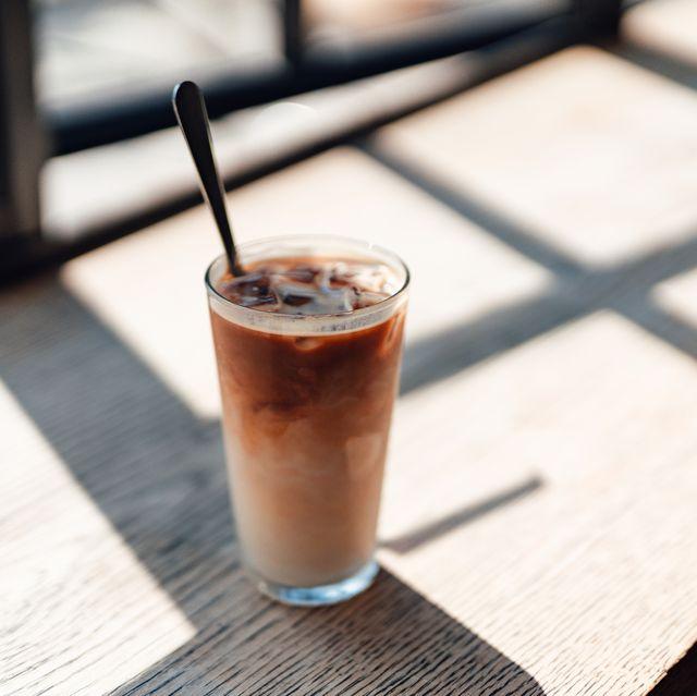 a fresh ice coffee