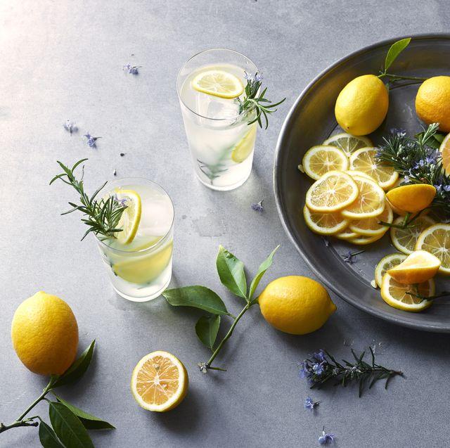 fresh lavender lemonade ingredients