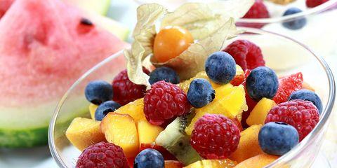 fresh mixed berries