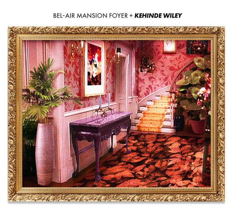 the fresh prince of bel air mansion if designed by kehinde wiley