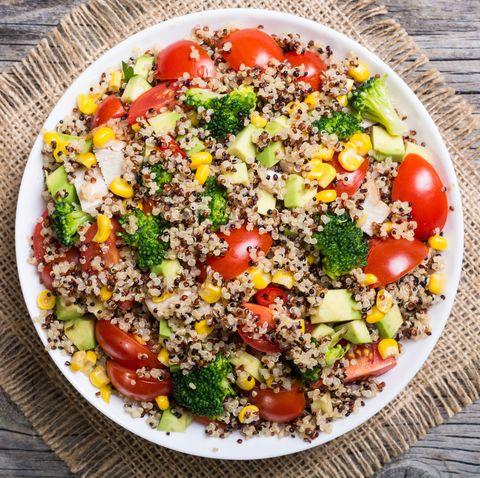 foods high in iron - quinoa