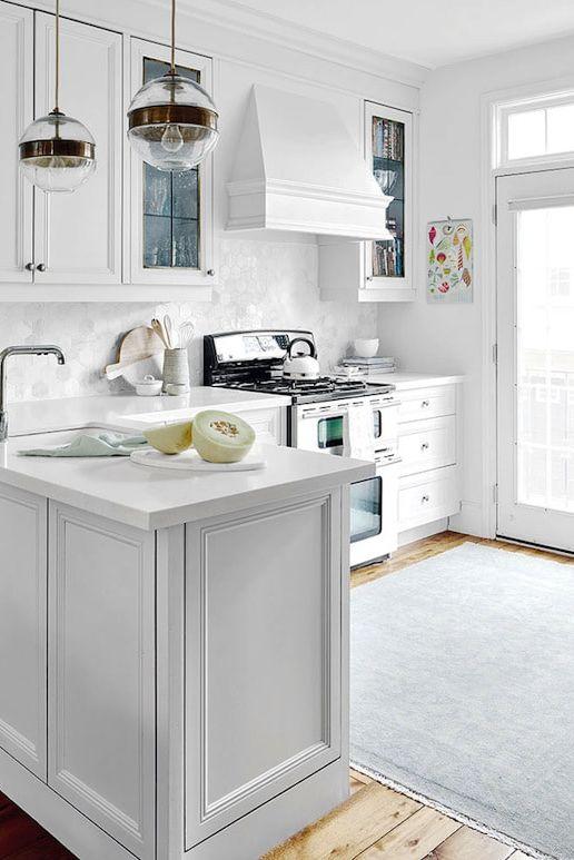 15 White Kitchen Design Ideas - Decorating White Kitchens