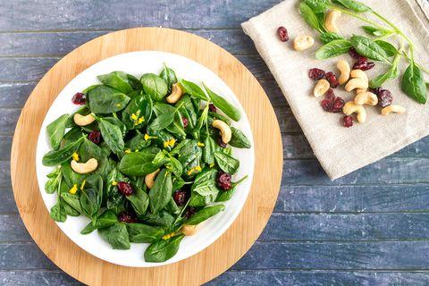 fresh tasty vitamin vegetable salad for a light snack