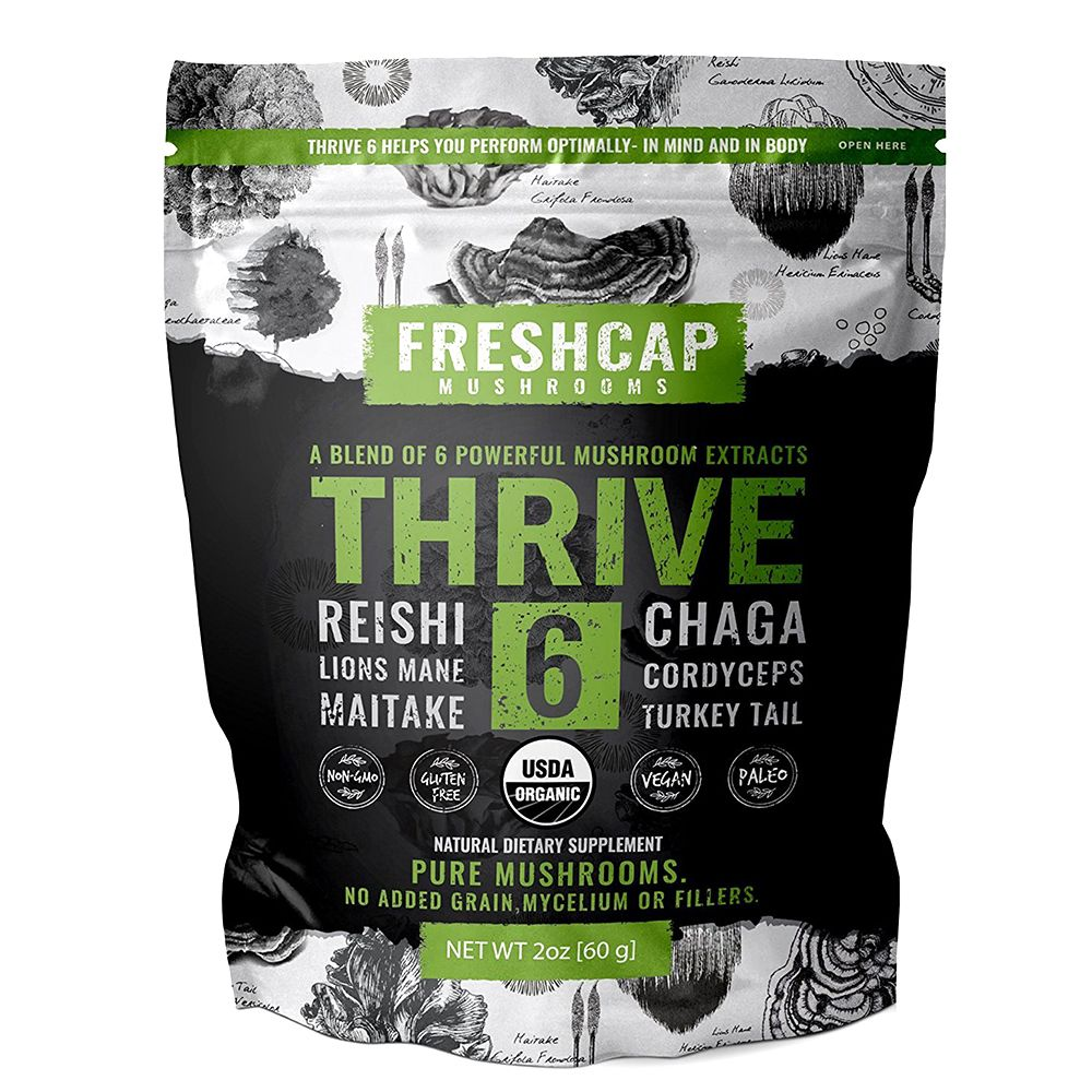 FreshCap Mushrooms Thrive 6 Mushroom Blend