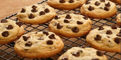 Freshly Baked Chocolate Chip Cookies