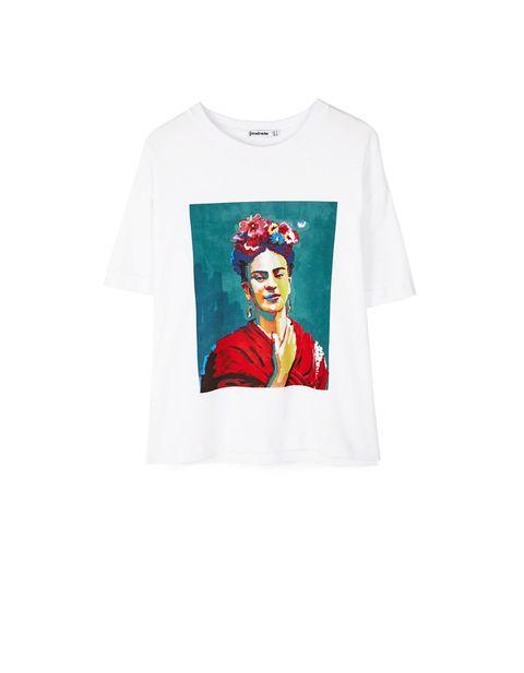 273f3aba9 Stradivarius saca camisetas de Frida Kahlo- Frida Kahlo llega a ...