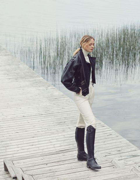 Frida-Gustavsson-stile-equestre-autunno-inverno-2019-Longchamp