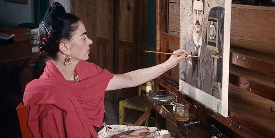 Artists in Their Studios, from Pablo Picasso to Frida Kahlo