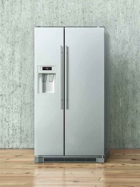 Refrigerator, Major appliance, Kitchen appliance, Home appliance, Product, Freezer, Room, Door,