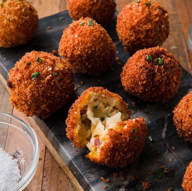 Fried Mashed Potato Balls - Delish.com