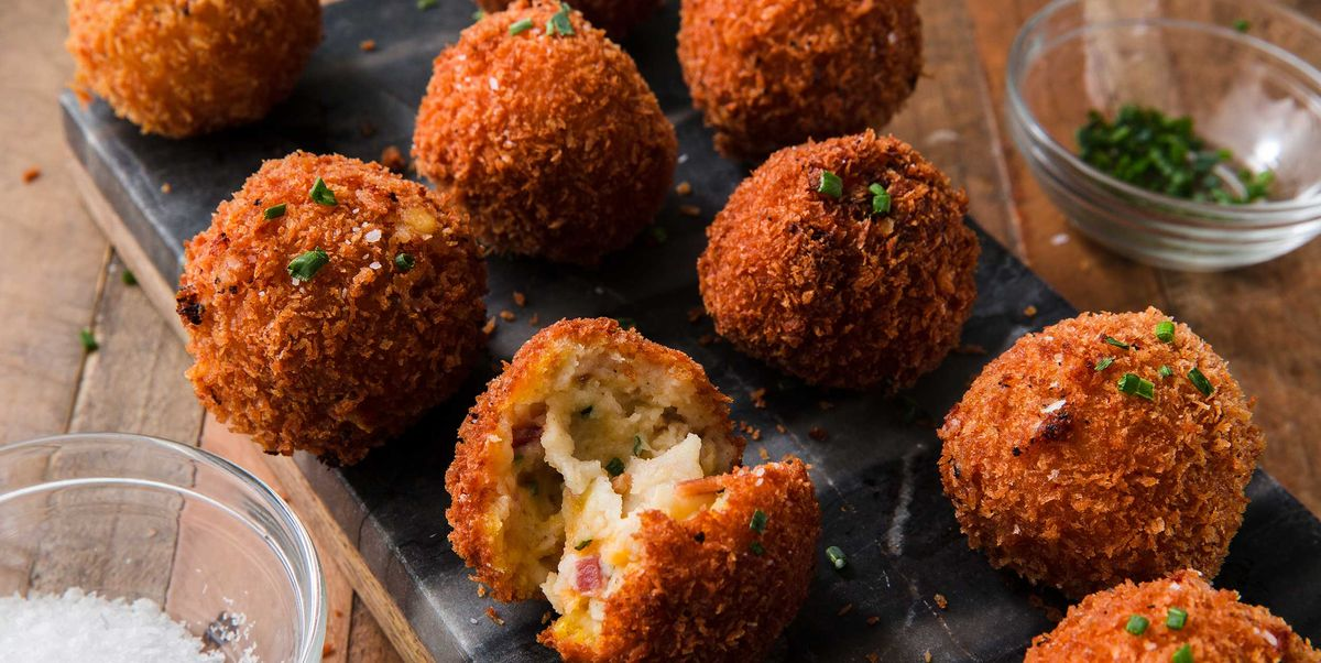 Best Fried Mashed Potato Balls Recipe How To Make Fried