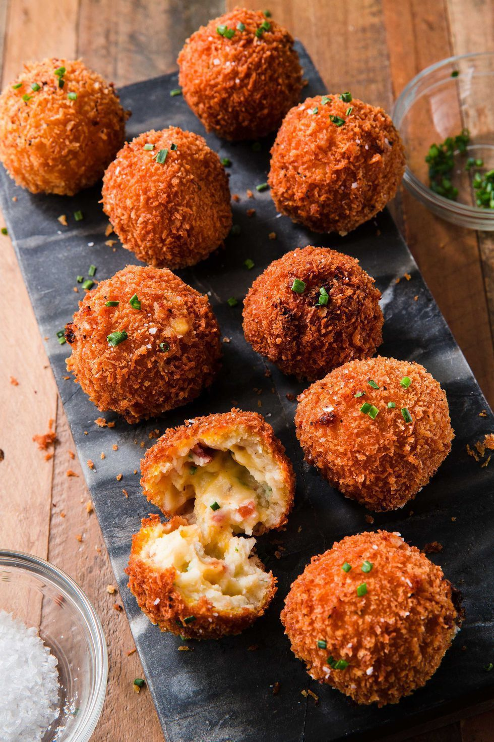 Thanksgiving Appetizers Fried Mashed Potato Balls