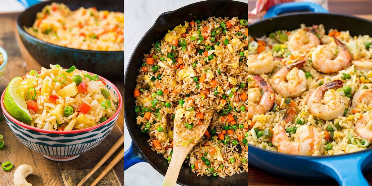 Fried Rice Recipes That'll Make You Second-Guess Your Local Takeaway