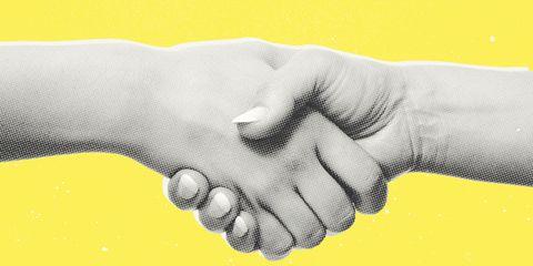 Gesture, Handshake, Hand, Finger, Interaction, Drawing, Wrist, Holding hands, Thumb, Sketch,