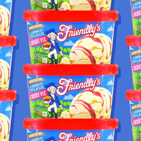 friendlys cherry pie ice cream