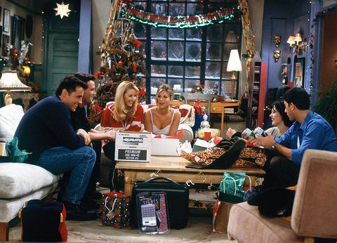capítulo de navidad de la serie friends