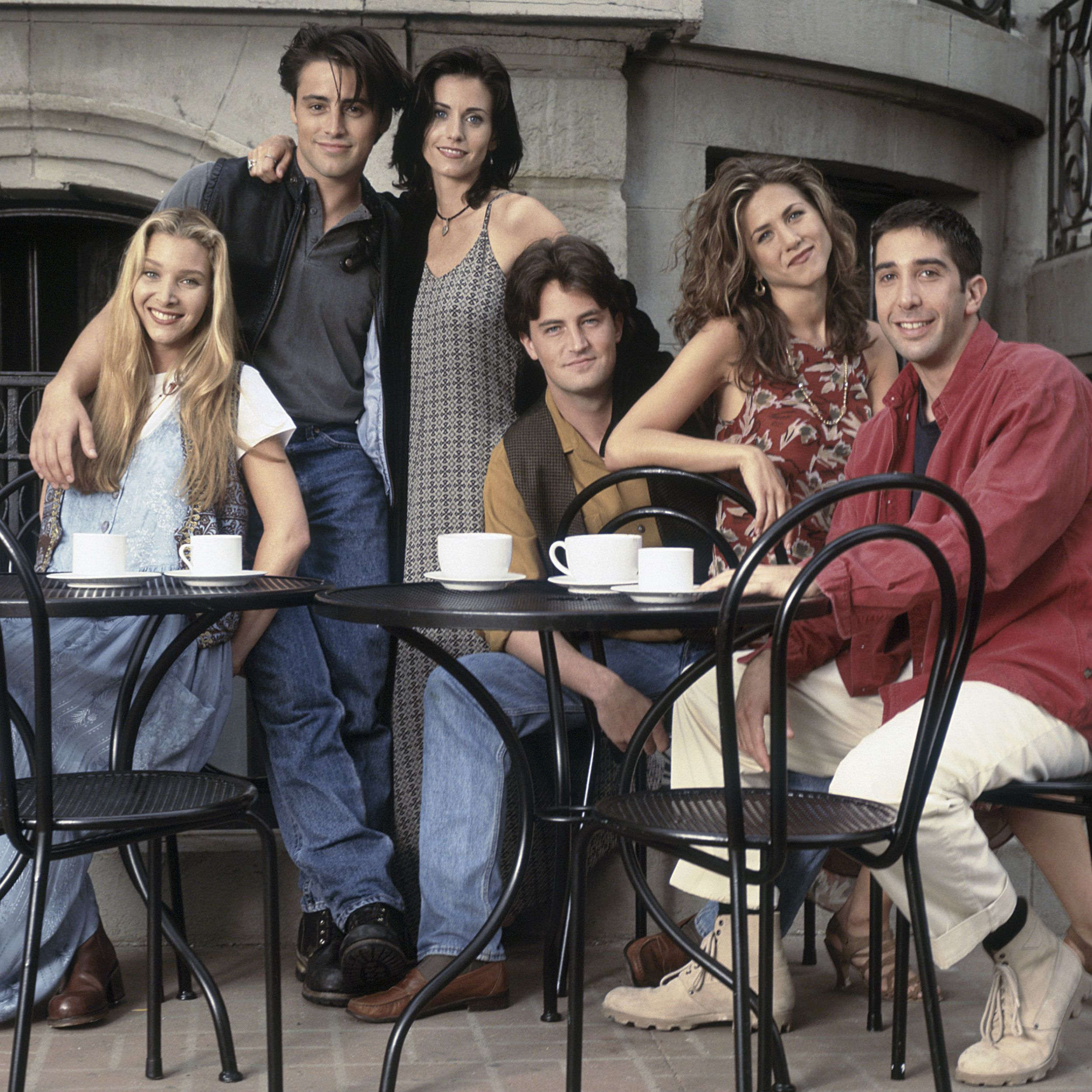 Friends cast share touching tribute to celebrate the show's 25th anniversary