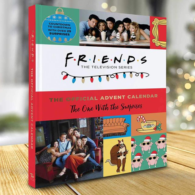'friends' advent calendar from insight editions