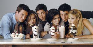 De cast van Friends