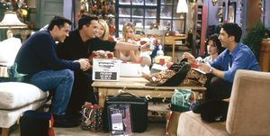 Kerst-scene uit Friends