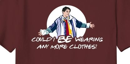 Friends cast announce their own T-shirts with classic catchphrases
