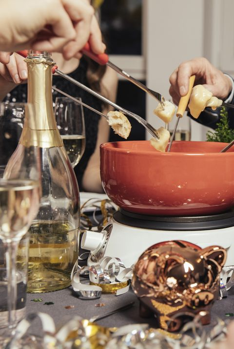 Best New Year's Eve Party Themes 2020 - Fondue Party Theme
