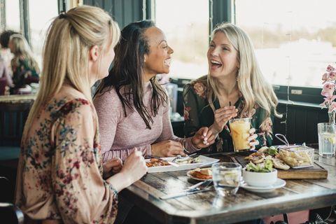跟朋友晚飯