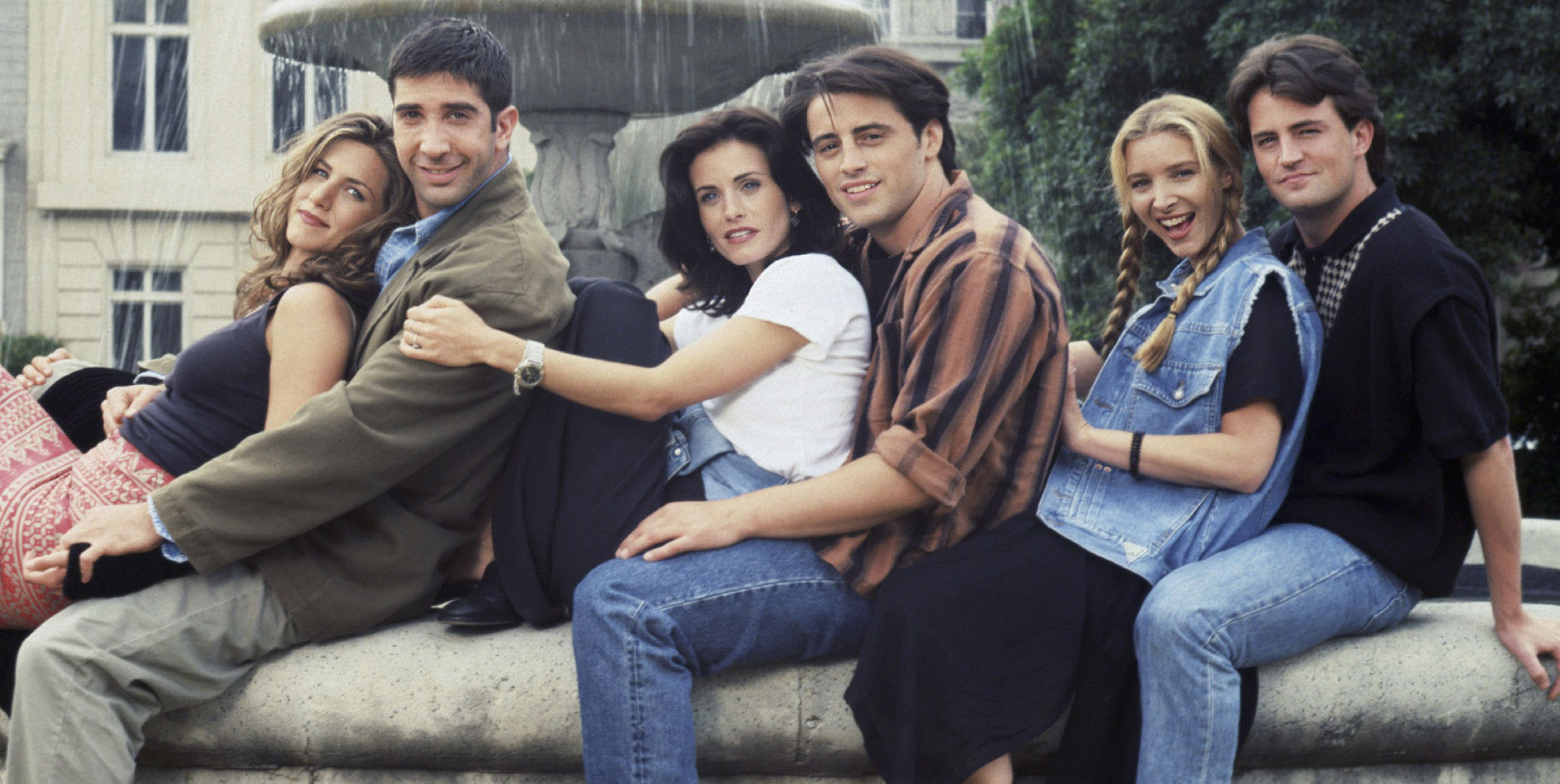 David Schwimmer didn't have to audition for Ross.