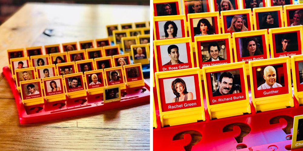 This 'Friends'-Themed Guess Who? Version Will Make Game Night Even Better