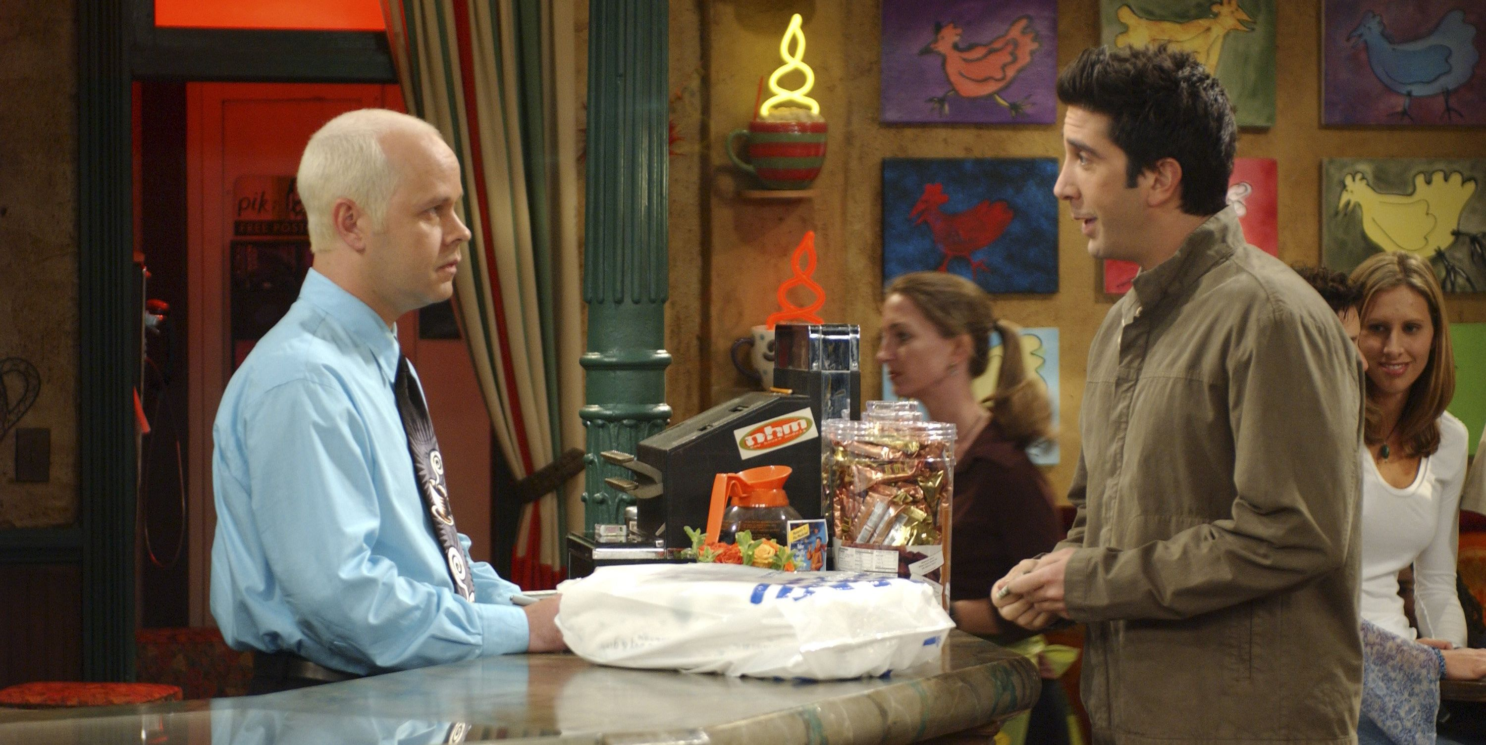 Gunther was a barista IRL.