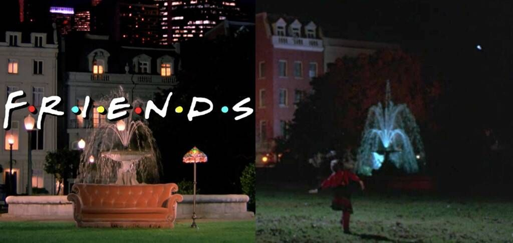 The 'Friends' Fountain Appears in 'Hocus Pocus' and People Are, Naturally, Freaking Out
