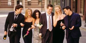 Friends, Jennifer Aniston, David Schwimmer, Lisa Kudrow, Matt Le Blanc, Mathew Perry, Courteney Cox