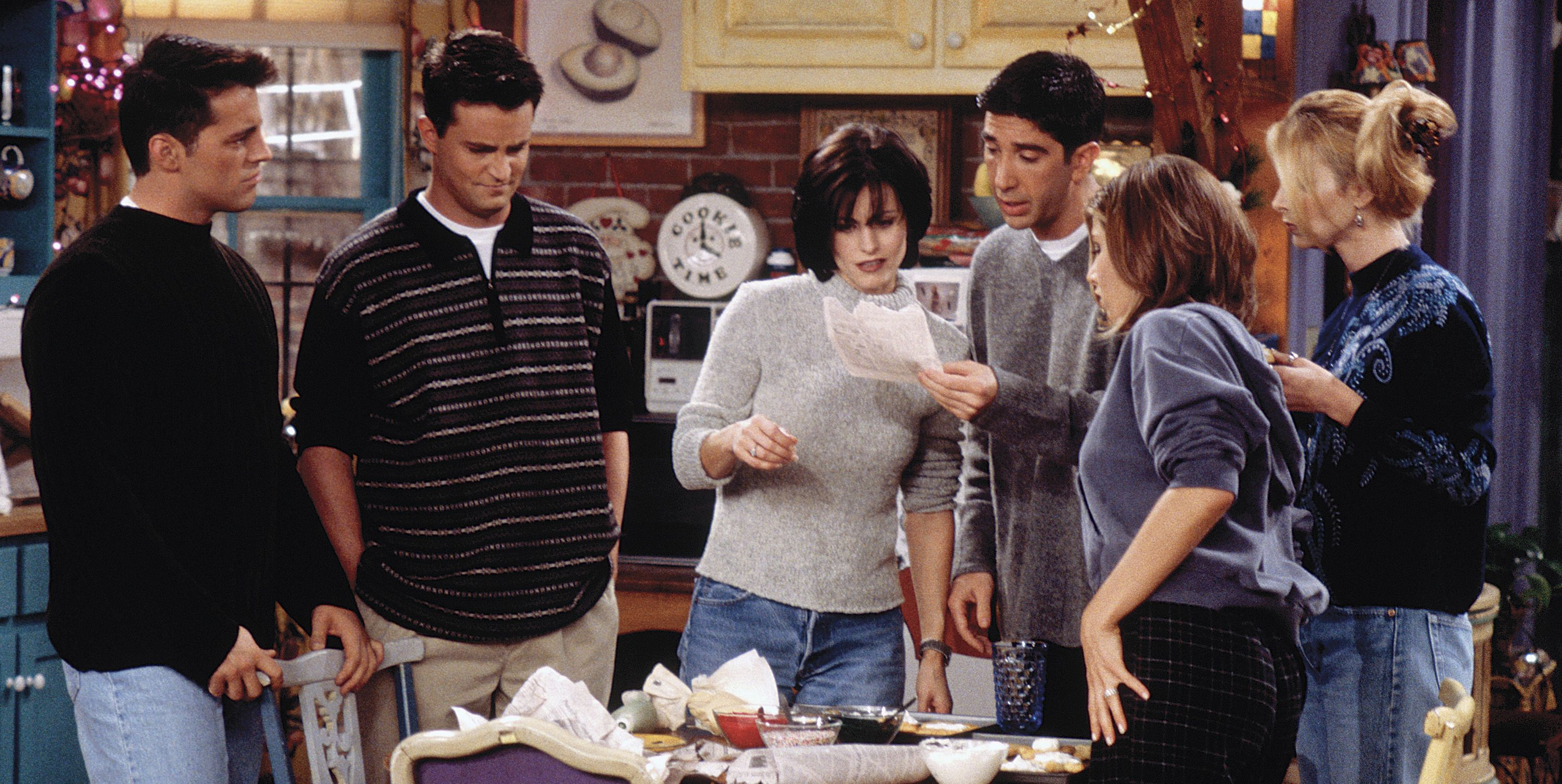 Friends was supposed to have just four friends.
