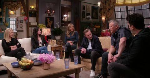 Friends Reunion, Lisa Kudrow, Jennifer Aniston, Courtney Cox, Matt LeBlanc, David Schwimmer, Matthew Perry