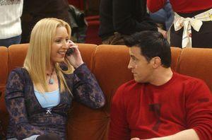 Phoebe y Joey en Friends